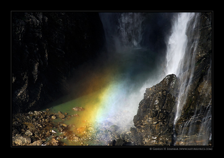 Sprectrum - Jogfalls  | Fine Art | Creative & Artistic Nature Photography | Copyright © 1993-2017 Ganesh H. Shankar