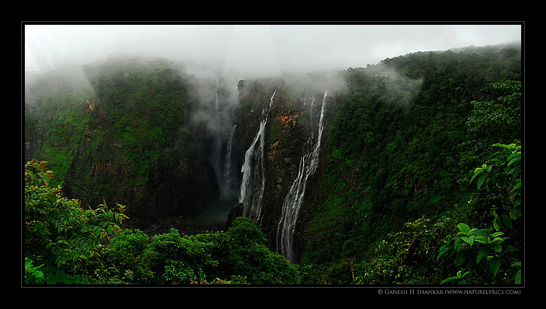 Jog Falls, India | Fine Art | Creative & Artistic Nature Photography | Copyright © 1993-2017 Ganesh H. Shankar