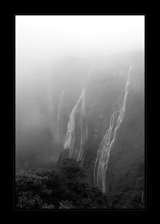 Jog Falls - Cloud Cover  | Fine Art | Creative & Artistic Nature Photography | Copyright © 1993-2017 Ganesh H. Shankar