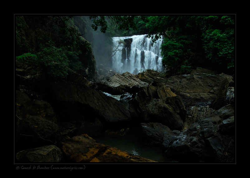 Waterfall - Sathoddi | Fine Art | Creative & Artistic Nature Photography | Copyright © 1993-2017 Ganesh H. Shankar