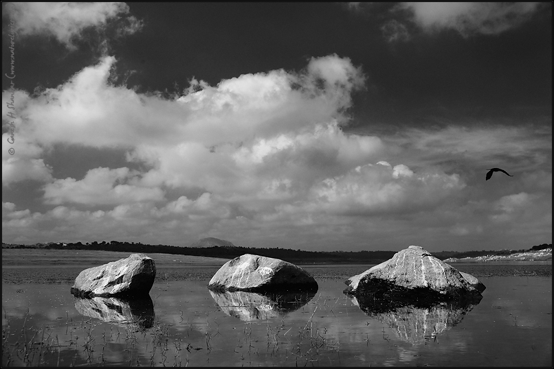 Stone and Clouds | Fine Art | Creative & Artistic Nature Photography | Copyright © 1993-2016 Ganesh H. Shankar