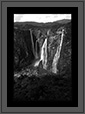 Jog Falls in Western Ghats  | bw Fine Art Nature Photography