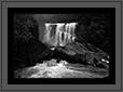 Sathoddi Water Falls in Black and White | bw Fine Art Nature Photography
