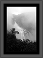 Unchalli Water Fall - Western Ghats | bw Fine Art Nature Photography
