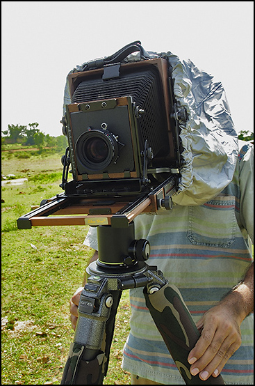 Here Is An Image Of A Photographer Using 4x5 Large Format Camera Like To Buy One If You Are Fanatic About Quality Probably Would